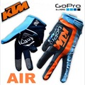 2016 Summer KTM GOPRO Team Edition AIR MX motocross racing gloves AM Downhill DH gloves Made of Elastic fibers