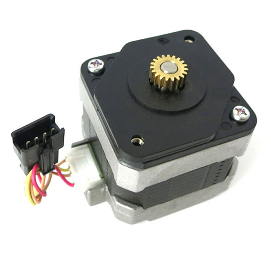 1 set 12V Metal Micro Gear Stepper Motor and Four Wire Two Phase Stepper Angle 0.5 Modulus 42mm 1.8 Stepping Angle 28byj 48 12v 4 phase 5 wire stepper motor 28byj48 12v gear stepper motor