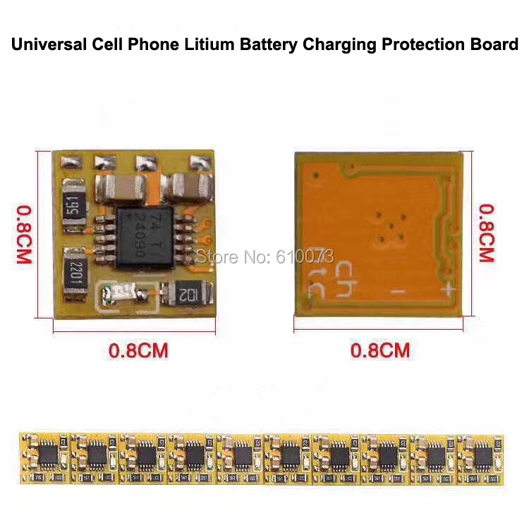 1XFast Charge Board Universal Cell Phone Lithium Battery Charging Protection Board to solve all mobile phone charging problem mobile phone