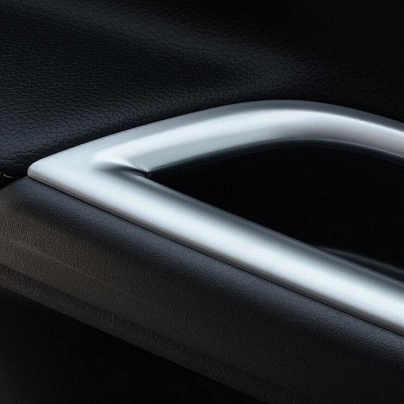 Tonlinker 4 ədəd DIY Avtomobil Üslubu ABS Mitsubishi Outlander - Avtomobil daxili aksesuarları - Fotoqrafiya 2