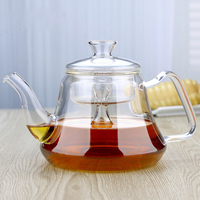 Thickening heat resistant glass teapot, electric ceramic stove, water heater, health pot glass, tea set, teapot.