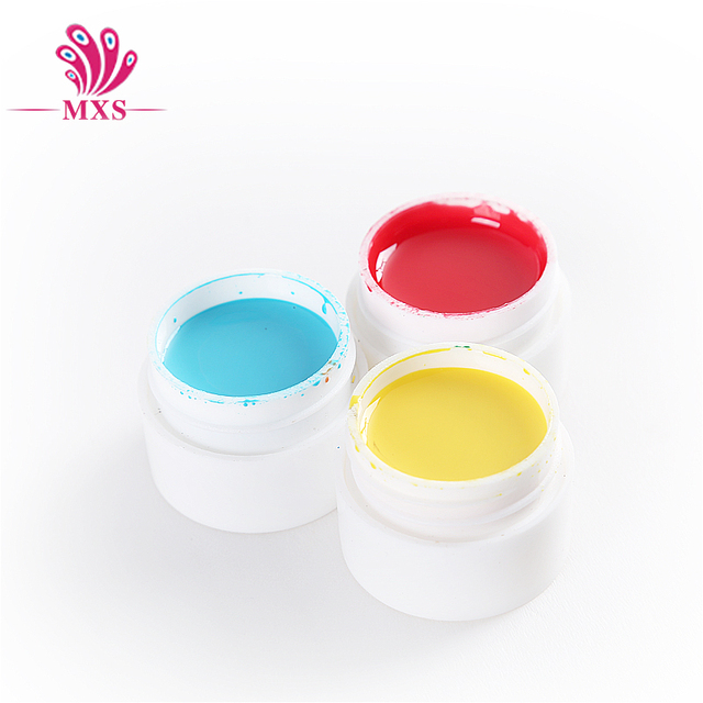 36 Solide Couleur 5 ml UV Gel DIY Décoration pour Nail Art Conseils UV Couleur Gel Manucure Gel Vernis À Ongles Extension 3