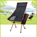 2016  Portable Ultralight Collapsible Moon Leisure Camping Chair with Carrying Bag for Outdoor Hiking Travel 4 color