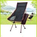 2016 lua portátil ultraleve dobrável lazer cadeira de acampamento com bolsa de transporte para caminhadas ao ar livre 4 cor