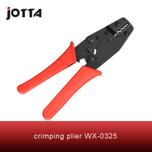 WX-0325 crimping tool plier 2 multi tools hands Ratchet Crimping Plier (European Style)