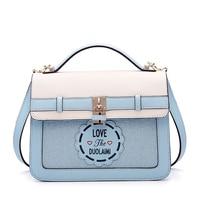Women handbag Bags 2018 fashion new Messenger Bag print white women Casual bag top quality bag free shipping