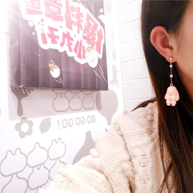 Korean Handmade Cute Cartoon Rabbit Woman Hanging Dangle Drop Earrings Fashion Jewelry Accessories JQD5 in Drop Earrings from Jewelry Accessories