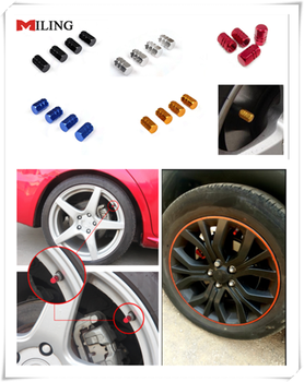 Aluminum Car Wheel Tires Valves Tyre Stem Air Caps Airtight Cover For BMW X3 X4 X5 X6 F07 F09 E91 E53 E70 X5 X3 X6 M M3 M5 image