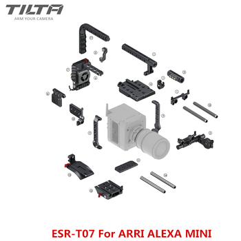 Tilta ESR-T07 rig for ARRI ALEXA MINI Camera Cage 15mm  baseplate V mount Power plate Top Handle EVF support New Version