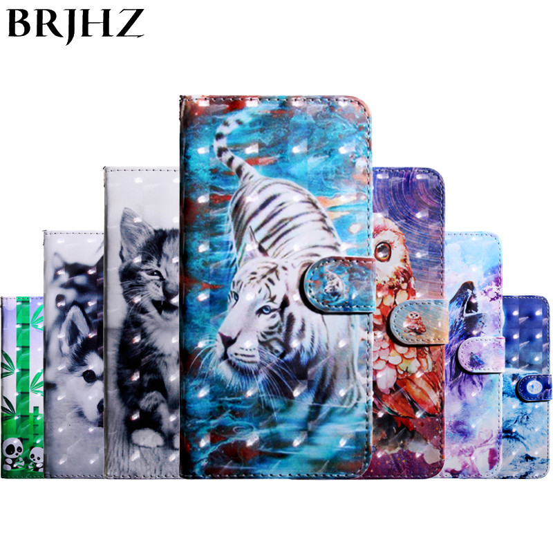 etui For Nokia 3.1 Plus Case on sFor Nokia 6.1 Plus Case For Nokia 7.1 Plus Case 3D Painted Flip Leather Phone Case Cover Coque