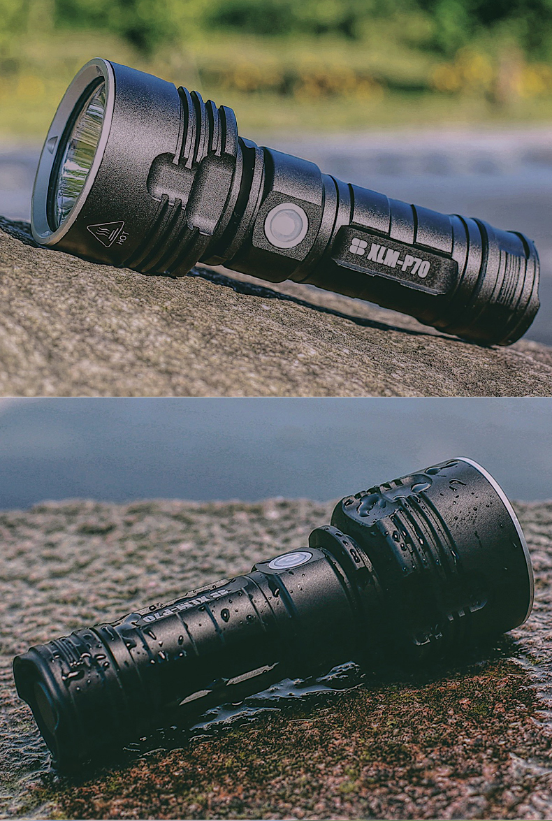 Powerful Cree LED Tactical Flashlight Torch