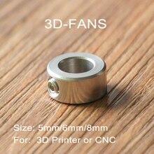 5 шт./лот части 3d принтера Openbuilds замок воротник T8 свинцовый винт замок винтовой замок Кольцо блокировка блок изоляционная колонна 5 мм/6 мм/8 мм