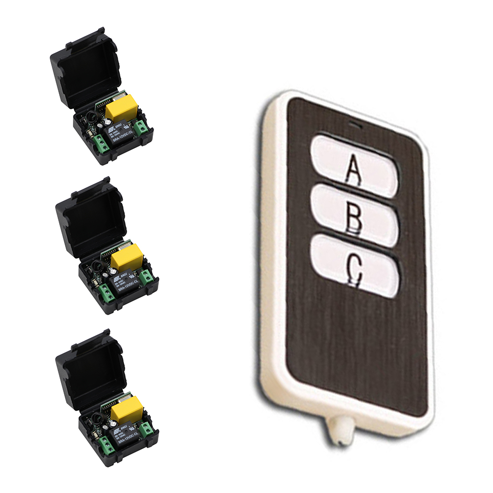 2017 New RF Mini Wireless Remote Control AC220 V 1CH Receiver and Transmitter Inter-lock Intelligent Home Appliances 2 working ways rf wireless intelligent