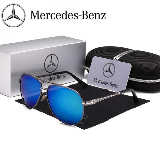 4509275b22 New Arrival 2018 Mercedes-Benz Aviator Design Polarized Sunglasses