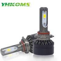 YHKOMS H7 H11 9005 9006 LED Car Headlight H4 Hi Lo H8 H9 H1 H3 880