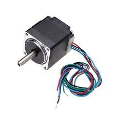 Motor NEMA 11 28, paso a paso híbrido, 1,8 grados, 2 fases, 4 cables, 32mm, Motor paso a paso para enrutador CNC