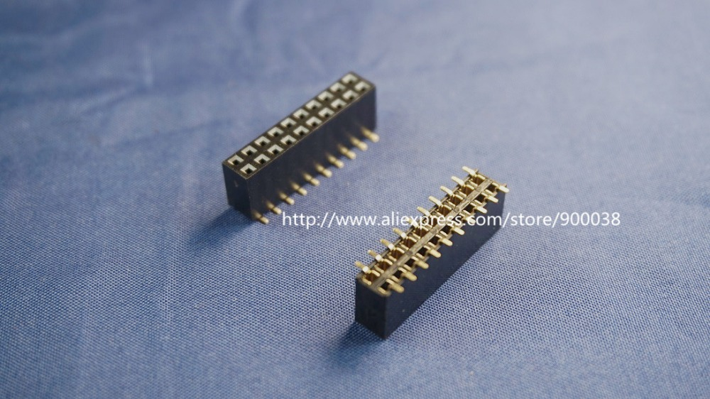 Lighting Accessories 100pcs 2x6 P 12 Pin 1.27mm Pitch Pin Header Male Dual Row Male Straight Gold Flash Rohs Reach Double Rows Pitch 1.27 Modern Techniques