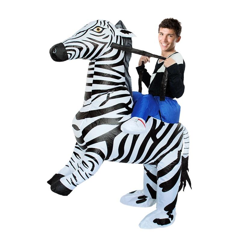 Zebra Inflatable Costume (4)
