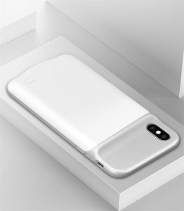 Image 5 - 6500mAh Slim Silicone shockproof Battery Charger Cases for iPhone XS Max XR X Power Bank Case External Pack Backup charger case