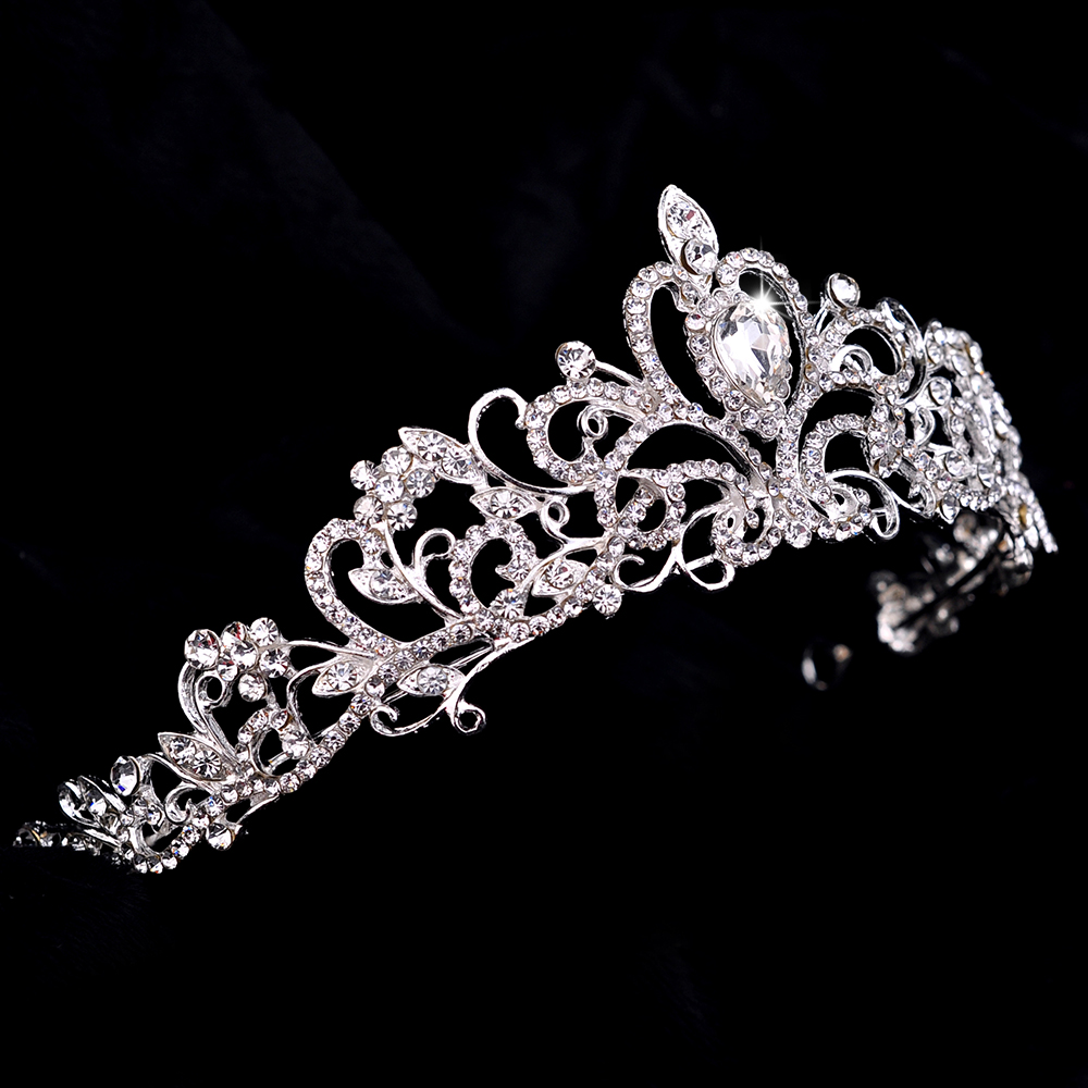 Tiaras and crowns wedding crown hair jewelry hairband wedding hair tiaras and crowns wedding crown hair jewelry hairband wedding hair accessories bridal tiara in hair jewelry from jewelry accessories on aliexpress junglespirit Images