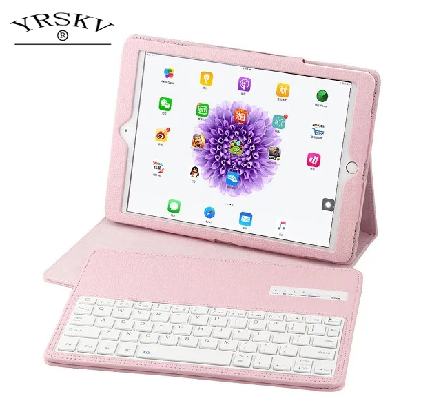 Case for iPad mini 1 mini 2 mini 3 YRSKV separate Leather Case+wireless Bluetooth Keyboard Smart Auto Sleep Wake Tablet Case