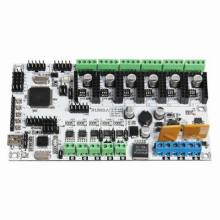 Rumba 3D Printer Controller Board For 3D Printers Supporting 6 Pieces of 16 Micro Stepping Drivers A4988