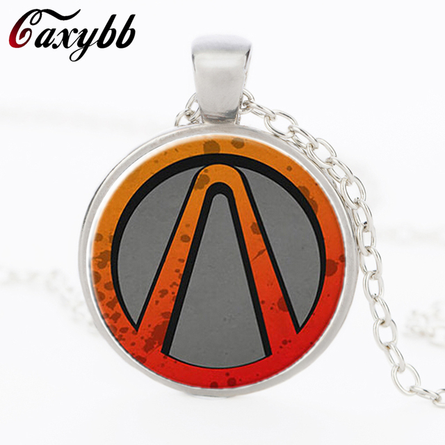 Borderlands game necklace bijoux glass red pendant necklaces borderlands game necklace bijoux glass red pendant necklaces borderlands vault symbol choker necklace 2015 fashion gamers aloadofball Gallery