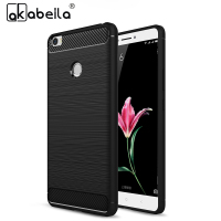 AKABEILA Cases Covers For Xiaomi MAX Mi Max Carbon Fiber Soft TPU Drawing Housing Bags For Xiaomi MAX Case Cover Hood