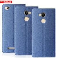 Luxury Leather Stand Magnetic Flip Cover Smart Case For Xiaomi Redmi 4 Pro Redmi 4 Redmi