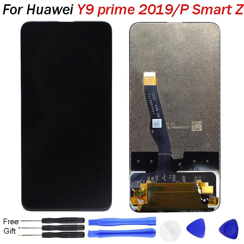 Original pour Huawei Y9 Prime 2019 LCD affichage tactile panneau de verre remplacement pour p smart z écran d'affichage numériseur assemblée complète