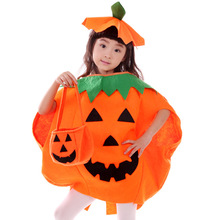 Family Matching Outfits Halloween clothing pumpkin costume for children masquerade party pumpkin clothes for boys and girls