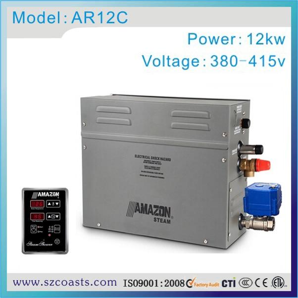 12kw 380 V Amazon Sauna Generatore Di Vapore Per Bagno Di Vapore Con