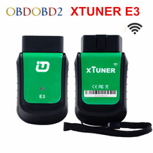 2017 Xtuner E3 OBD2 Wifi Automotive Scanner Support Multi Brand Cars XTUNER E3 OBD2 Diagnostic Interface Scan Tool Update Online