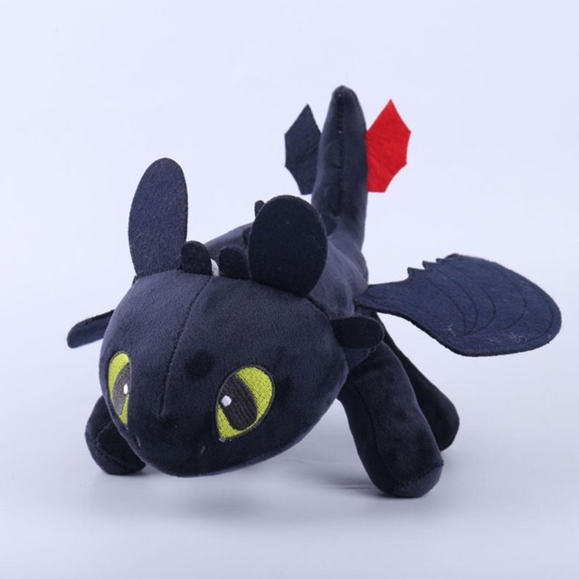 25cm-30cm Toothless Night Fury Plush How To Train Your Dragon plush toy doll 1