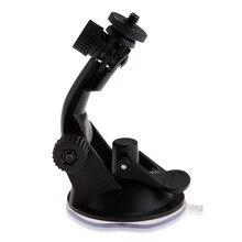 Автомобильный держатель для крепления на присоске, для камеры Gopro Hero 7/6/5/3/3 +/2/1, 1/4 дюйма, черный