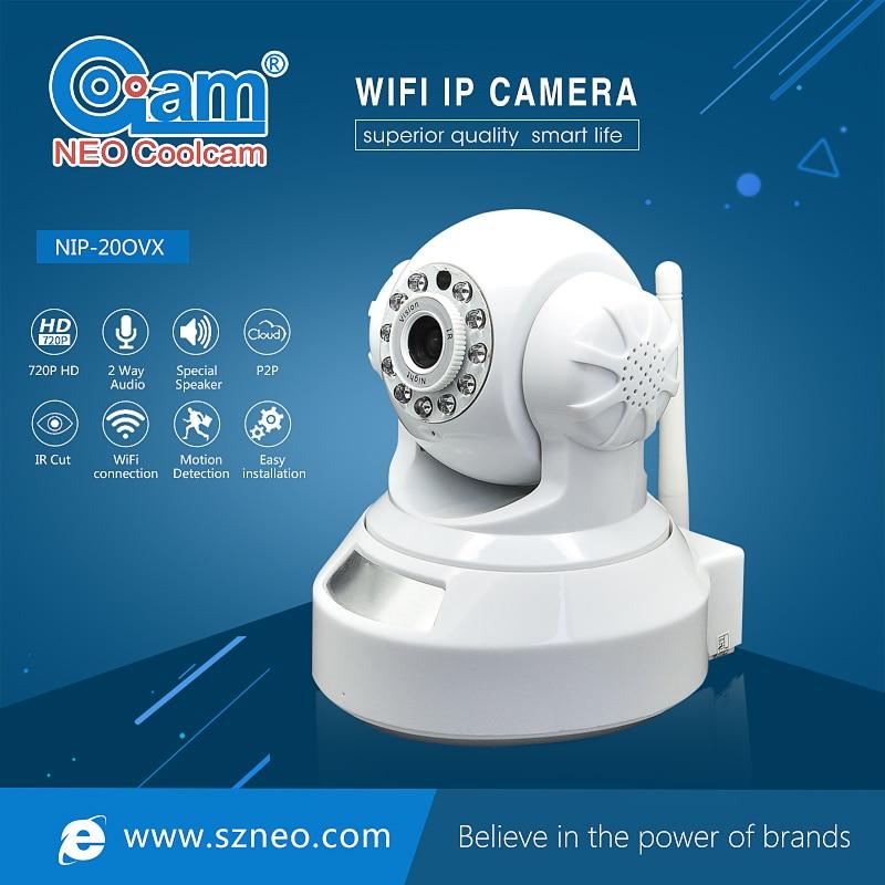 imágenes para NEO Coolcam NIP-20OVX 720 P HD IP Cámara de Red Wifi IR de Visión Nocturna Cámara de Vigilancia CCTV de Seguridad de Vídeo, Soporte iPhone, Android