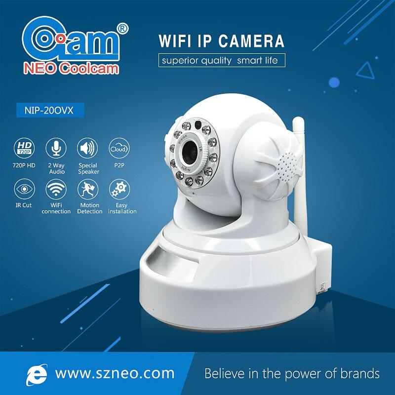 NEO Coolcam NIP-20OVX 720 P HD IP Caméra Wifi Réseau IR Nuit Vision CCTV Vidéo Surveillance de Sécurité Cam, Soutien iPhone, Android