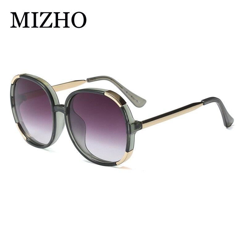 4317e90cd28 MIZHO Oversized Polarized Sunglasses For Women Oval UV400 Transparent  Shining Female Driver Glasses HD Visual Summer gift 2019-in Sunglasses from  Apparel ...