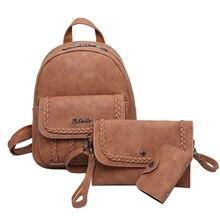 Миссис Win искусственная кожа женщины рюкзак модные школьные сумки Высокое качество составлен цветы школьные сумки для подростков девочек mochilaBB118
