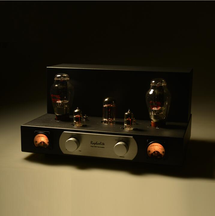 Music Hall Raphaelite 300B Vacuum Tube Amplifier HiFi Single-ended Class A Stereo Power Amp Finished Product finished 6n2 fu32 vacuum tube amplifier single ended tube power amp 110v or 220v version available