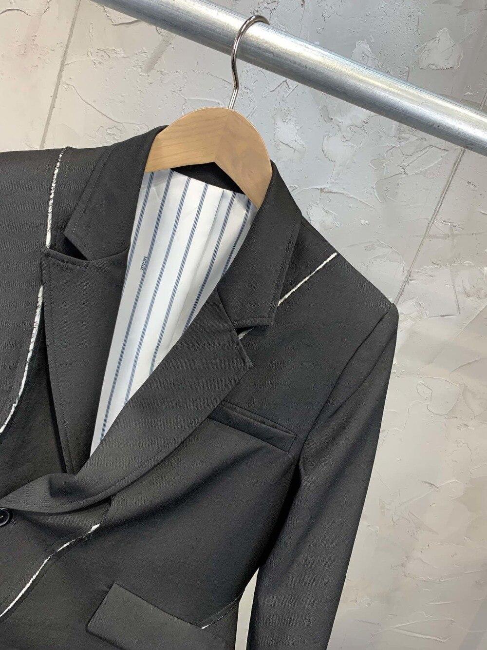 New 0304 Design Spring Early Unregelmiger 19 Blazer EDIW29eHY