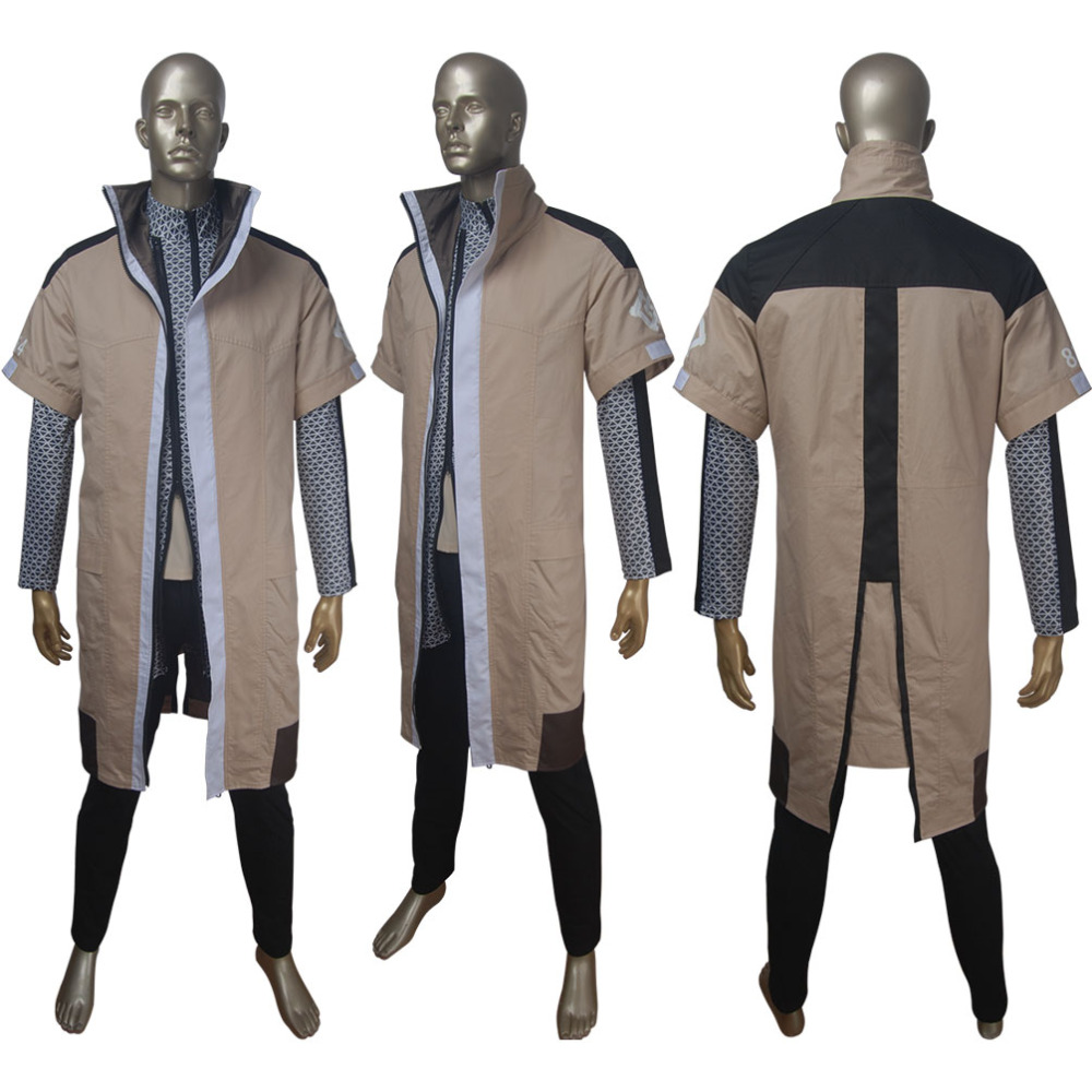 Detroit: Become Human caretaker android Markus cosplay Halloween costume coat X'mas Valentine's day birthday gift