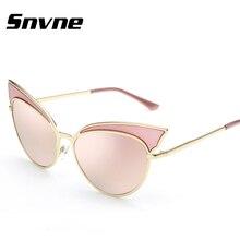 Snvne Cat Eye Sunglasses Mujeres de Las Señoras Gafas de Sol oculo Mujer UV400 lentes oculos gafas de sol luneta soleil muje Femenino