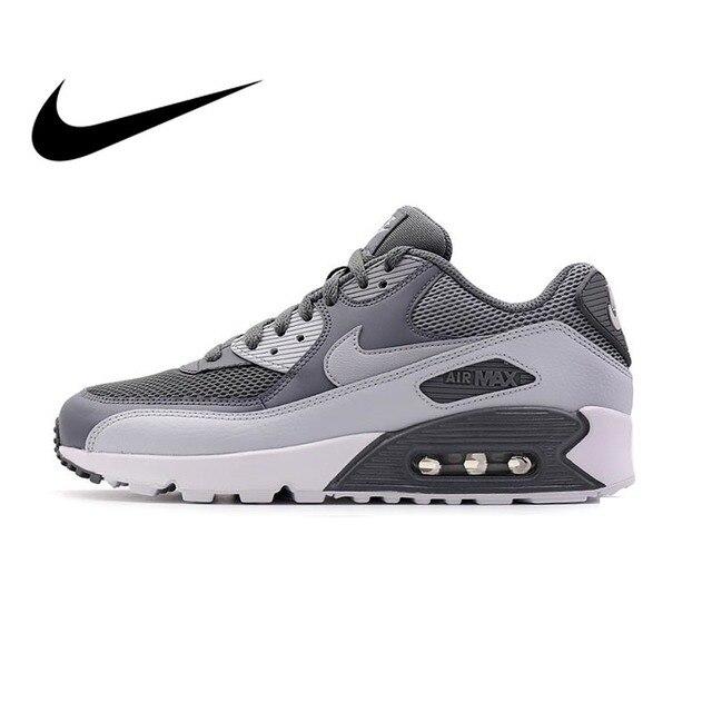 Оригинальные Nike Оригинальные кроссовки мужские AIR MAX 90 ESSENTIAL дышащие кроссовки спортивные уличные удобные 537384-073