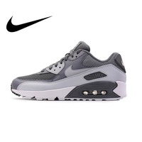 Original Authentic NIKE Men's AIR MAX 90 ESSENTIAL Breathable Running Shoes Sneakers Sport Outdoor Comfortable 537384 073