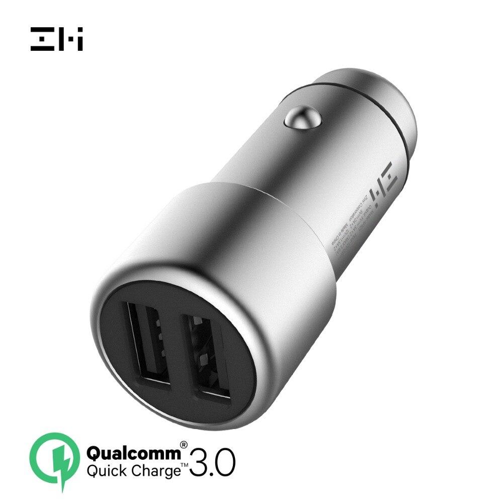 ZMI AP821 36W Schnelle Dual USB Auto Ladegerät, powerCruise C2 für iPhone X/8/7/6 s/Plus, iPad Pro/Air 2/mini, Galaxy S9/S8/S7/S6