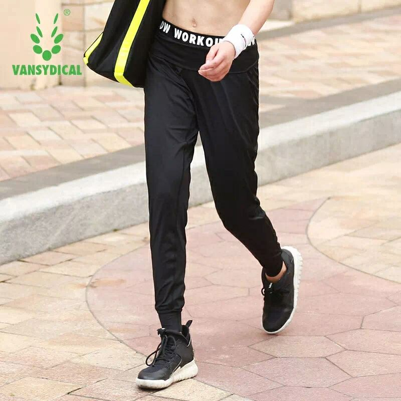 Sexy Women Legging Running Pants Hight Waist Pants For Active Workout Fitness Sport Tight jogging Pants