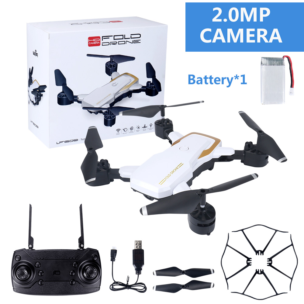 Image 4 - RC Airplanes LF609 Wifi FPV Drone Quadcopter with 0.3MP/2.0MP Camera Battery kid toy Grownups gift 8 11 Years remote controller-in RC Airplanes from Toys & Hobbies