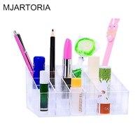 2 1PC 14 5cm X9 6cm X7cm Lipstick Storage Display Holder Acrylic Cosmetic Organizer Makeup Box