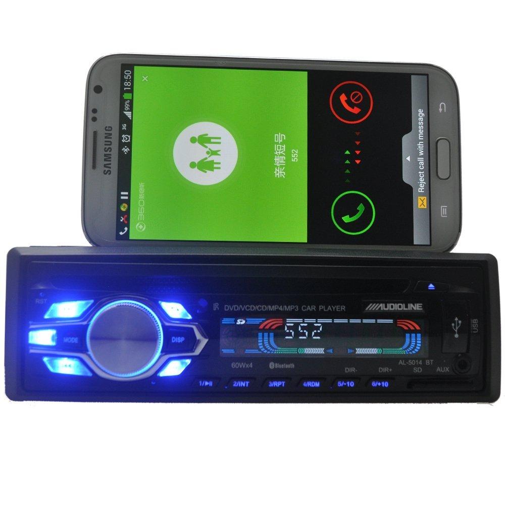 Universel un din unique 1 meilleur prix lecteur DVD de voiture CD USB SD FM Auxin bluetooth auto radio MP3 stéréo audio charge